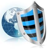 Sécurité d'écran protecteur Image libre de droits