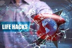 Sécurité d'affaires, de technologie, d'Internet et de réseau photos stock