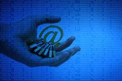Sécurité d'email images libres de droits