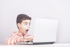 Sécurité d'Internet et concept de contrôle parental image libre de droits