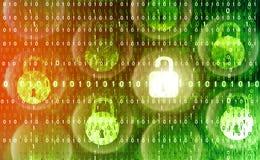 Sécurité de Cyber illustration stock