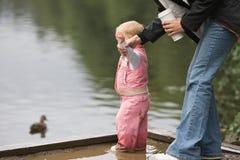 sécurité de l'eau d'enfant Photographie stock libre de droits