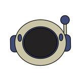 sécurité de l'espace d'astronaute de casque illustration libre de droits