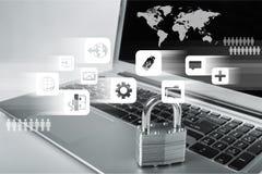 Sécurité de réseau images libres de droits