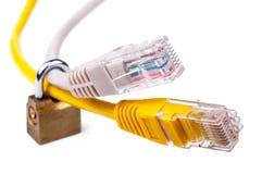Sécurité de réseau et de service informatique Photos stock