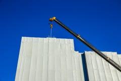 Sécurité des bâtiments en construction couverte Photo stock
