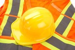 Sécurité en jaune ! Photo stock