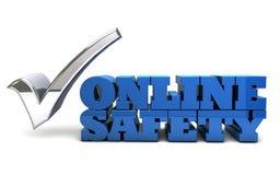 Sécurité en ligne Illustration Stock