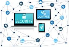 Sécurité en ligne Images libres de droits