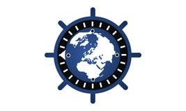 Sécurité globale de Cyber Image stock