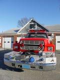 Sécurité incendie : avant de camion de pompiers photos stock