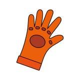 Sécurité industrielle de gant Photographie stock libre de droits