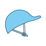 Sécurité industrielle de travailleur de casque Photo stock