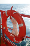 sécurité lifebuoy de boucle Images stock