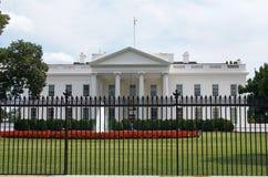Sécurité lourde de la Maison Blanche des Etats-Unis le 17 juillet 2017 Image stock