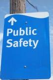 Sécurité publique Photographie stock libre de droits