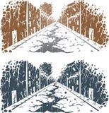 Séisme illustration de vecteur