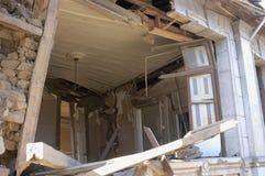 Séisme de Richter 8.8 au Chili le 27 février 2010. Photographie stock