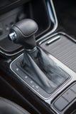 Sélecteur d'engrenage de transmission automatique de voiture Image libre de droits