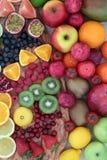 Sélection délicieuse de fruit frais Photo libre de droits