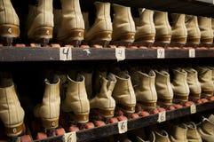 Sélection d'une paire de patins de rouleau Images libres de droits