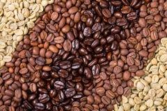 Sélection de café image stock