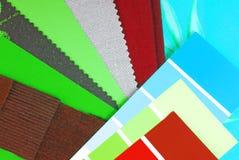Sélection de conception de couleur Photographie stock