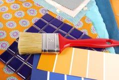 Sélection de conception de couleur pour l'intérieur Images stock