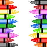 Sélection de crayon Photographie stock libre de droits