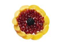 Sélection de fruit frais Image libre de droits