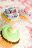 Sélection de gâteaux Photos libres de droits