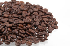 Sélection de grain de café Images libres de droits