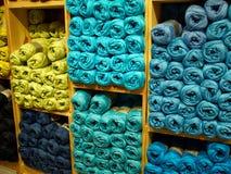 Sélection de laine de fil Image stock