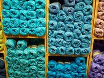 Sélection de laine de fil Photo stock