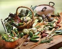 Sélection de mini légumes Image libre de droits