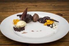 Sélection de souris de chocolat Photographie stock