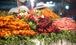 Sélection de viande Image stock