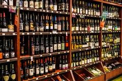 Sélection de vin Images stock