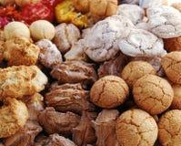 Sélection des biscuits de macaron photo libre de droits