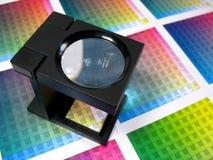 Sélection des couleurs Photographie stock libre de droits