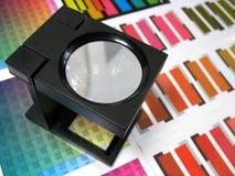 Sélection des couleurs Image libre de droits