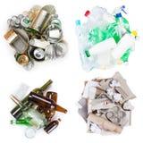 Sélection des déchets Photos libres de droits
