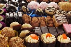 Sélection des gâteaux Photographie stock libre de droits