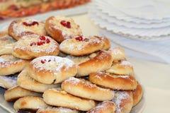 Sélection des gâteaux doux Photo stock