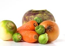 Sélection des légumes frais Image libre de droits