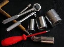 Sélection des outils images stock