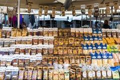 Sélection des pâtes Photo libre de droits