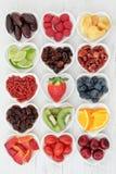 Sélection mélangée de fruit photos libres de droits