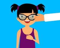 Sélectionner des verres Image libre de droits