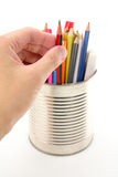 Sélectionnez un crayon photo libre de droits
